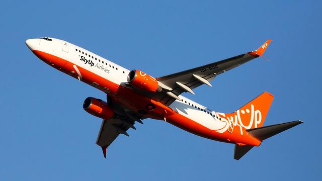 Самолет компании Sky Up. Фото: shutterstock