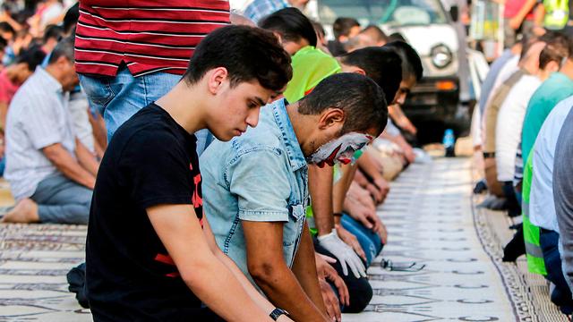 לבנון טריפולי הג'וקר ג'וקר הפגנות (צילום: AFP)