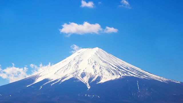 הר פוג'י יפן (צילום : shtterstock)