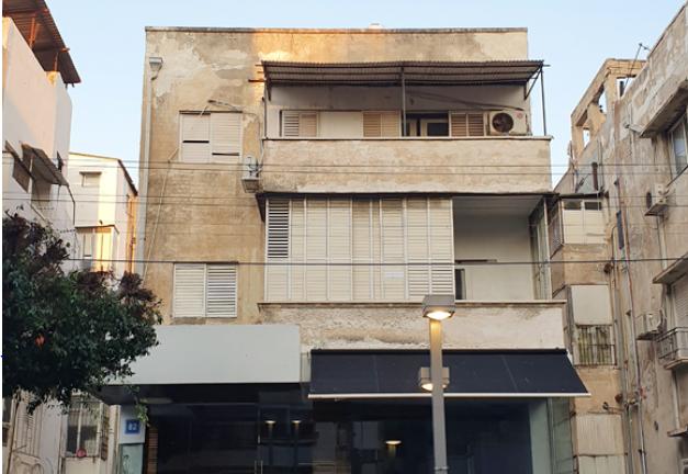 הבניין ברחוב דיזנגוף 82 בת