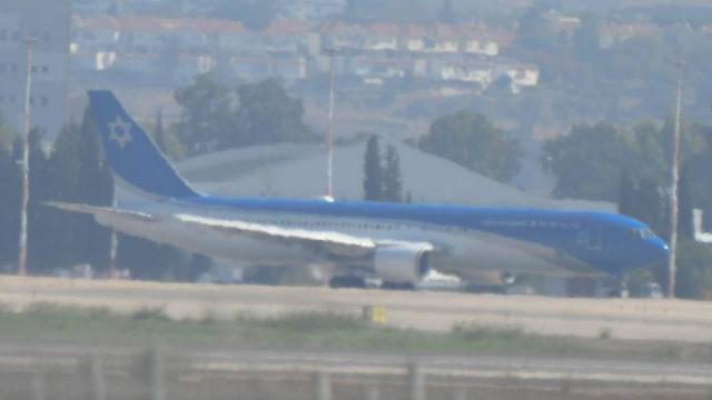 מטוס ראש הממשלה בואינג 767 נתב