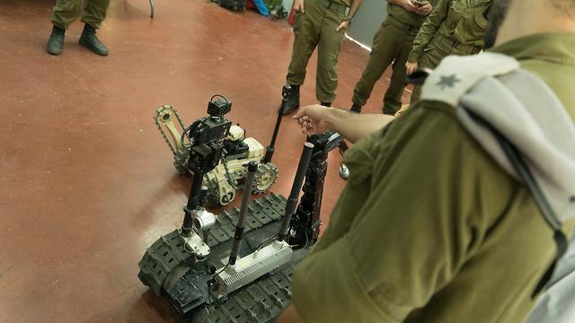 חיל ההנדסה יהלום טכנולוגיה (צילום: דובר צה