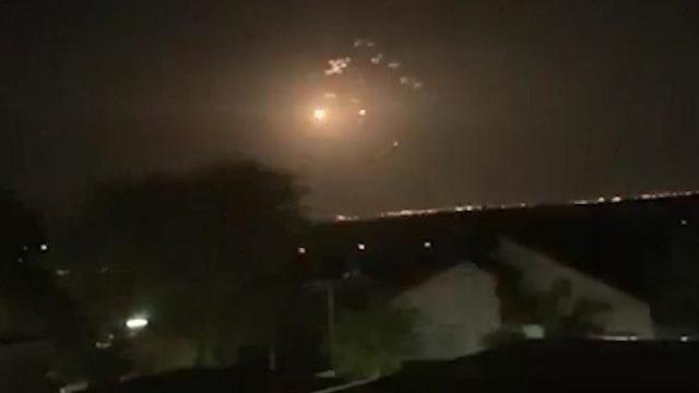 Iron Dome intercepts rockets over Israel