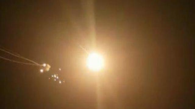 Iron Dome intercepts Gaza rocket fire over Sderot