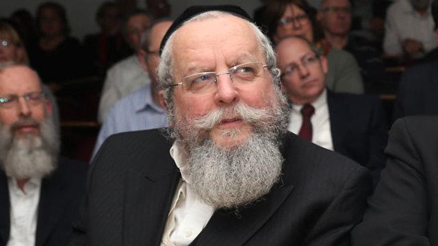 הרב אלימלך פירר (צילום: שאול גולן)