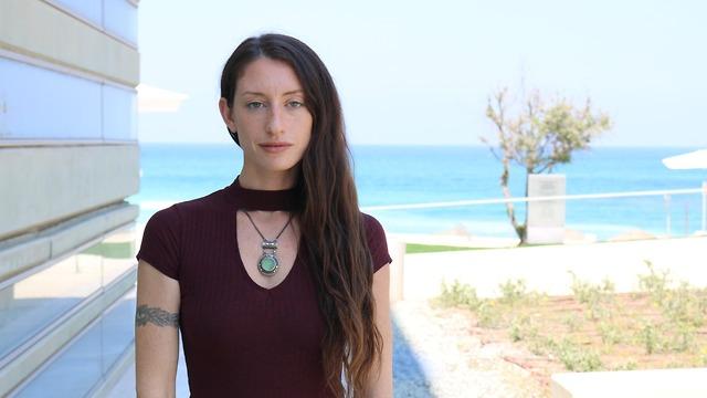 אלכסנדרה כהן, סטודנטית שנה ג' לקיימות וממשל בבינתחומי (צילום: חן שנהב)