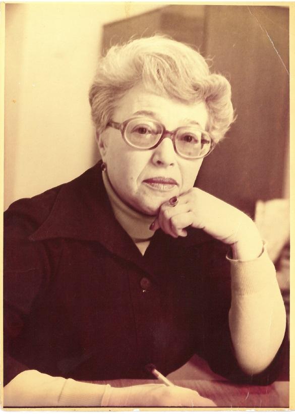 Софья Мижеричер в СССР в 1980-е годы. Фото из личного архива