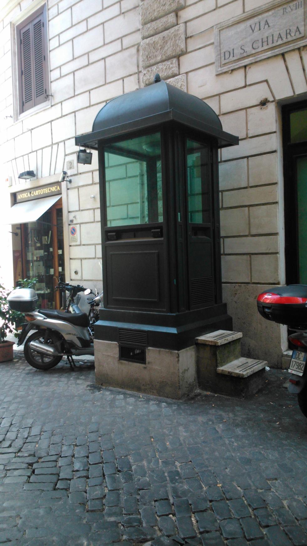 Guard post in Rome