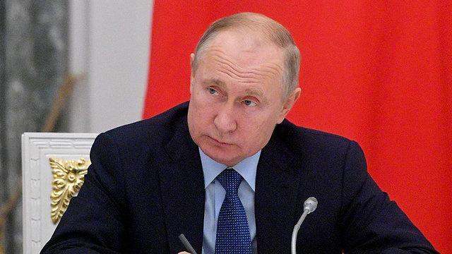 נשיא רוסיה ולדימיר פוטין  (צילום: AP)