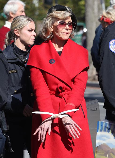 פונדה סיפרה כי זה פריט הלבוש האחרון שאי פעם תקנה (צילום: Mark Wilson/GettyimagesIL)