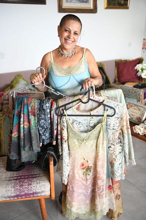 """"""" ב־25 השנים שאני לובשת מיכל נגרין, השתניתי וגם סגנון הלבוש שלי השתנה"""" (צילום: יאיר שגיא)"""