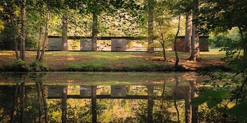 בקטגוריית הצילום הסלולרי: ביתן הרחצה Tossols-Basil בתכנון RCR, זוכי פרס פריצקר (צילום: Tzu Chin Yu/APA19/Sto)