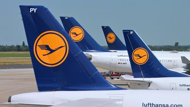 Самолеты компании Lufthansa.Фото: shutterstock