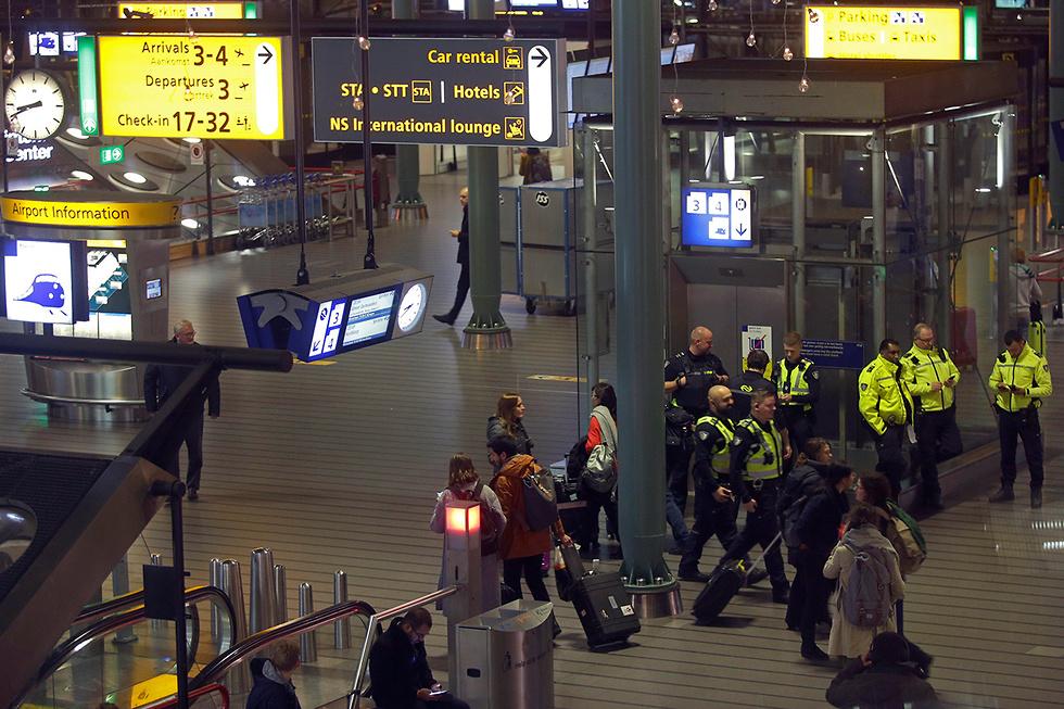נמל תעופה סכיפהול הולנד (צילום: AP)