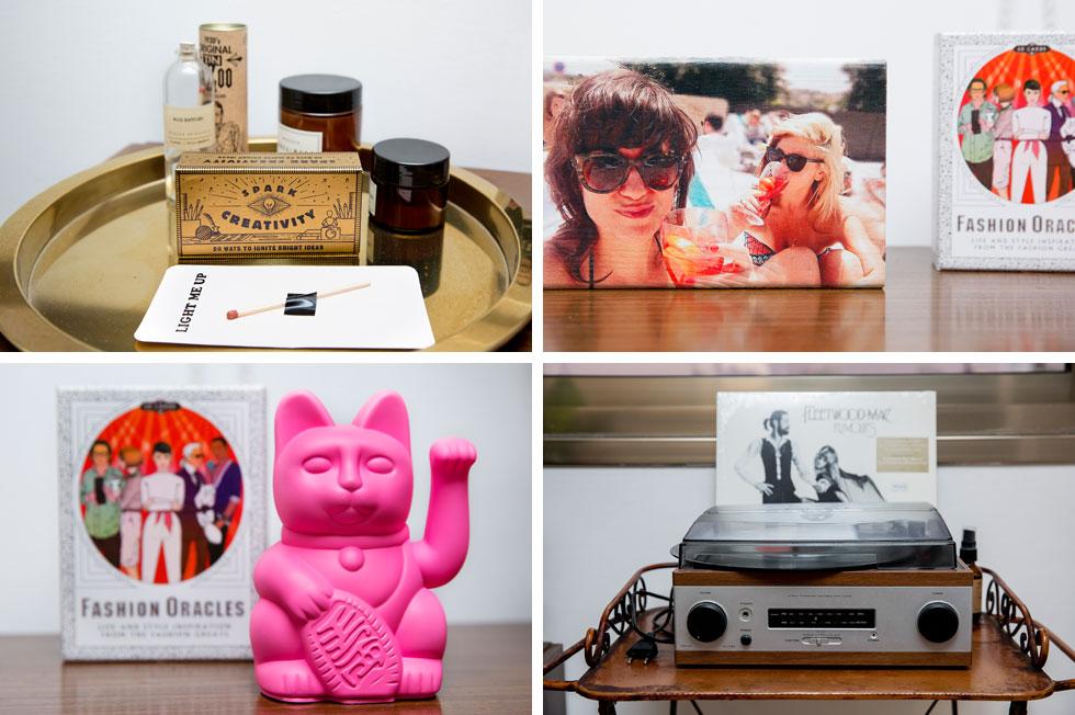 אלמנטים עיצוביים בדירה המינימליסטית (צילום: ענבל מרמרי)