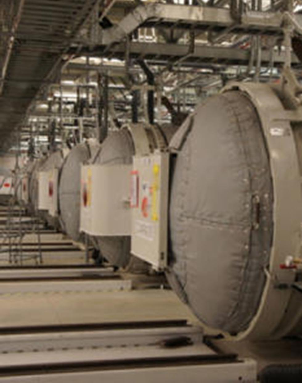 Iran's underground Fordo facility (צילום: EPA)