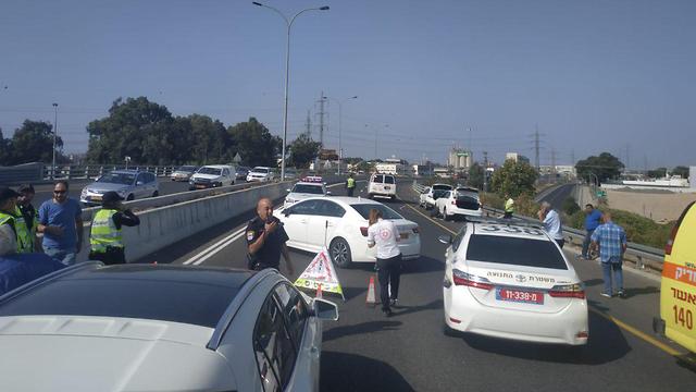 Место аварии. Фото: пресс-служба полиции