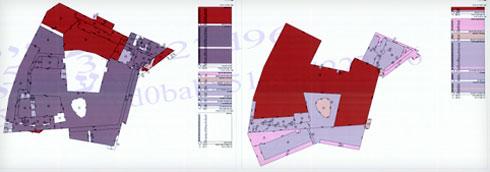 שטחי הפרויקט (תוכנית: מתוך jerusalem.muni.il)