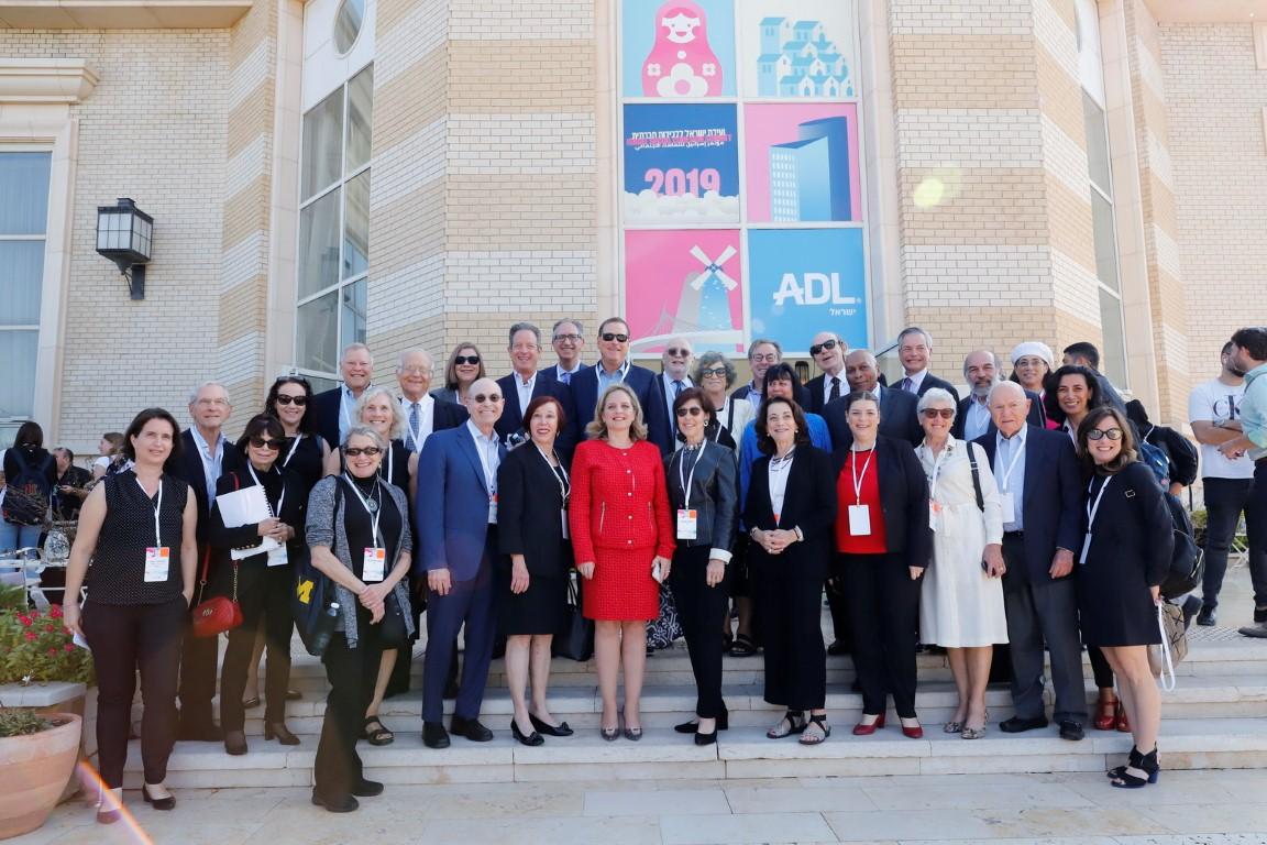משתתפי הוועידה ללכידות חברתית ישראל 2019 (צילום: יוני רייף)