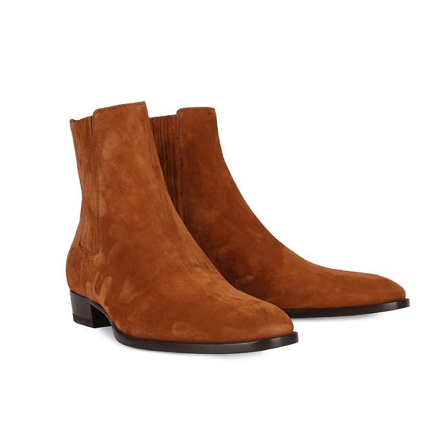 Saint Laurent/ 3,490 ₪ בוטיק אמור   להכנס לנעליים של הגדולים  (צילום: יח