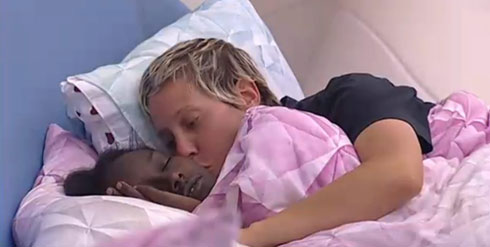 """עם טהוניה רובל ב""""אח הגדול"""" (צילום: מתוך האח הגדול ערוץ 2)"""