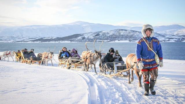 לשימוש הכתבה בלבד! זוהר צפוני נורווגיה החברה הגיאוגרפית (צילום: באדיבות החברה הגיאוגרפית)