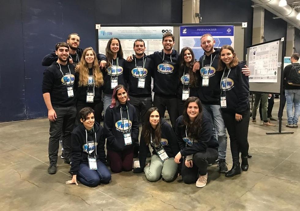 הנבחרת של אוניברסיטת תל אביב  (צילום: אוניברסיטת תל אביב)