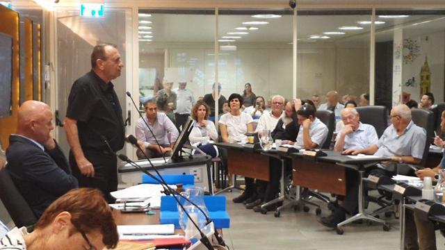 רון חולדאי במועצת עיריית תל אביב ()
