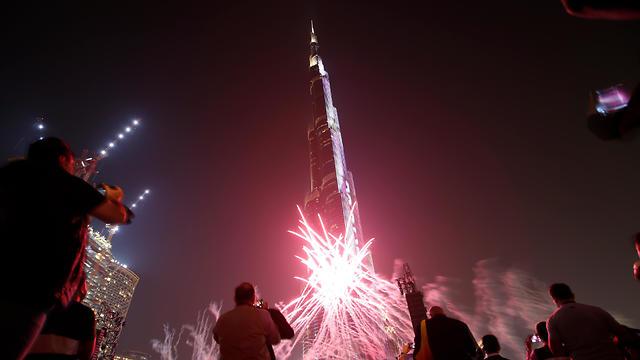 Celebrating the upcoming Expo in Dubai (Photo: EPA)