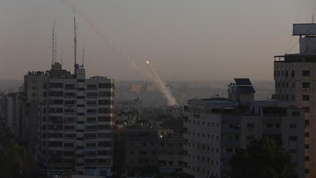 אזעקות ויירוטים לאחר ירי רקטות מעזה לאחר חיסול בכיר הג'יהאד (צילום: מג'די פתחי, TPS)