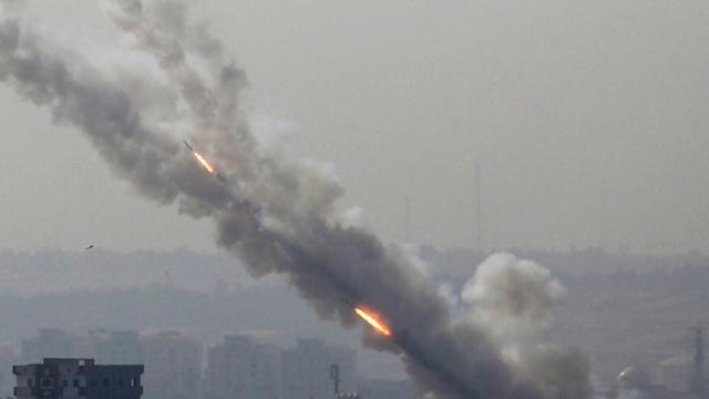 Islamic Jihad rockets launched from Gaza at Israeli communities (Photo: EPA) (Photo: EPA)