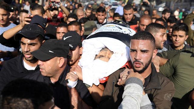 The funeral of Islamic Jihad commander Baha Abu al-Ata in Gaza (Photo: TPS) (Photo: Majdi Fathi)