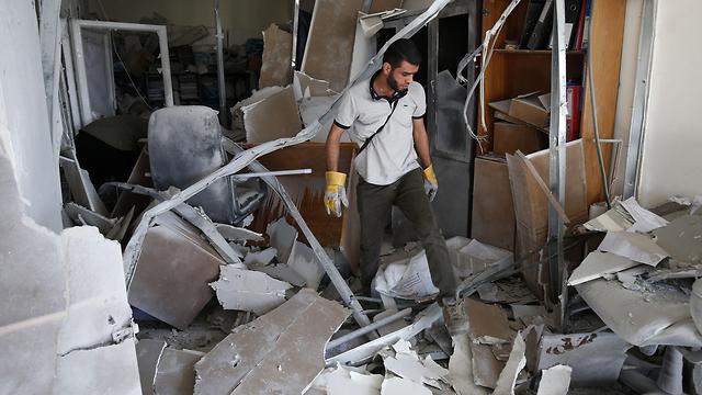 The home targeted in the killing of Islamic Jihad leader Baha Abu al-Atta (Photo: AFP)