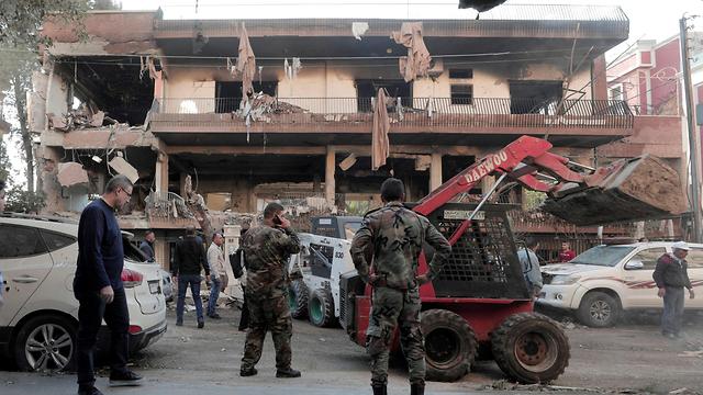 סוריה: הותקף ביתו של סגן מנהיג הג'יהאד האיסלאמי (צילום: רויטרס)