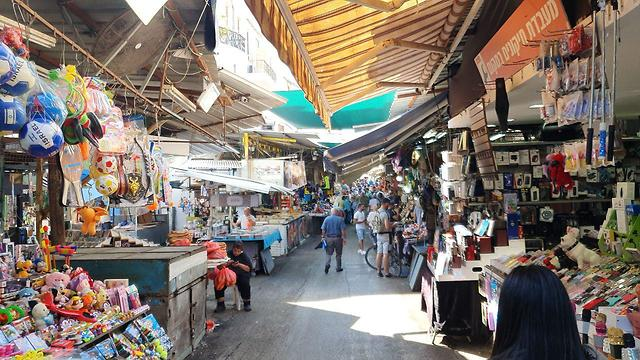 Carmel Market in Tel Aviv (photo: Assaf Kamar)