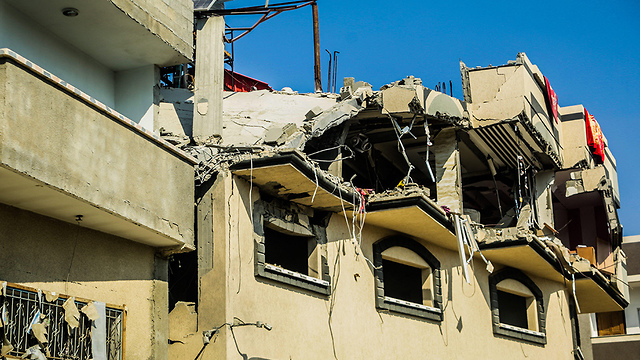 Baha Abu al-Ata's house (Photo: MCT)
