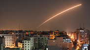 Rockets launched from Gaza towards Israel (Photo: AFP)
