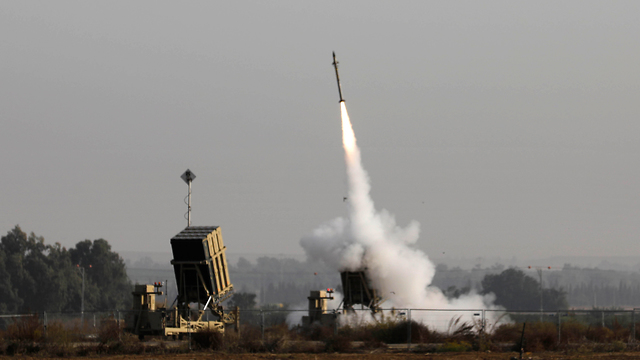 Iron Dome missile defense system intercepts rockets launched from Gaza (Photo: AFP) (Photo: AFP)
