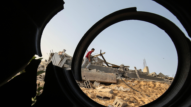 Buildings damaged by IDF strikes on Islamic Jihad targets in Gaza (Photo: AFP)