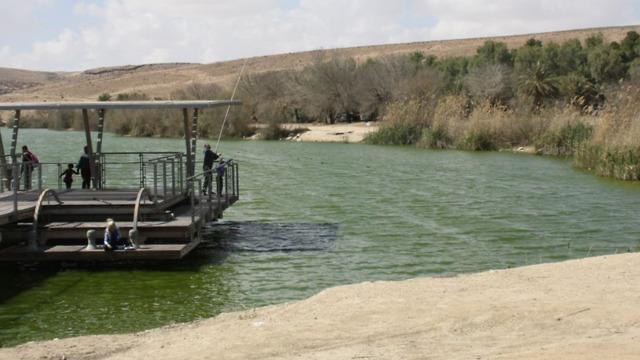 ירוחם אגם ירוחם (צילום: אליקים אדריכלים ובוני ערים)