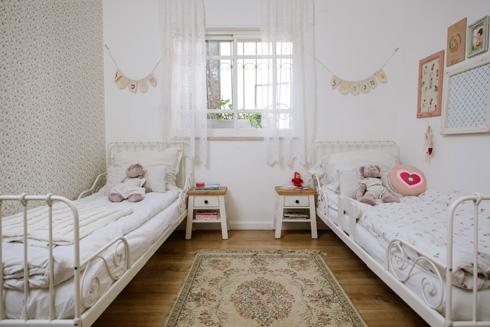 סקאלת צבעים רכה בחדר הילדים  (צילום: מורן מעין)