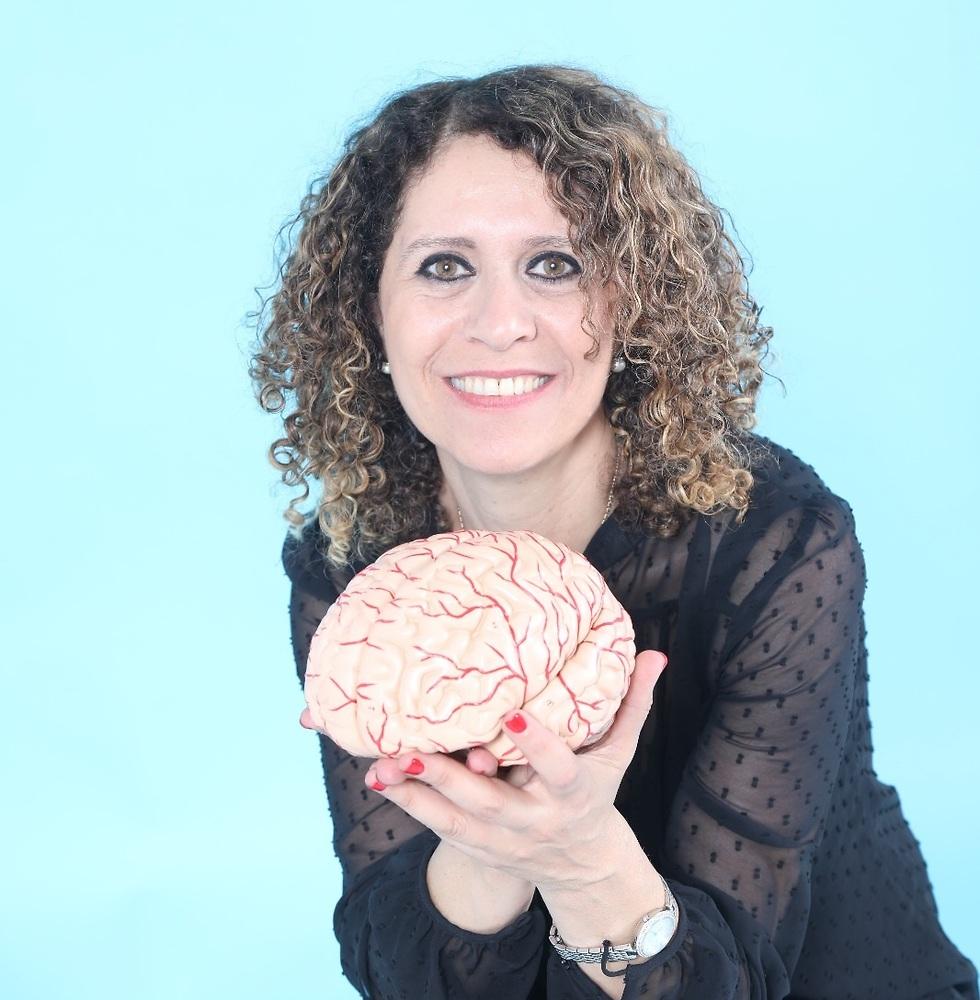 פרופ' מונא מארון, חוג סגול לנוירוביולוגיה באוניברסיטת חיפה (צילום: אוליביה חרמאן)