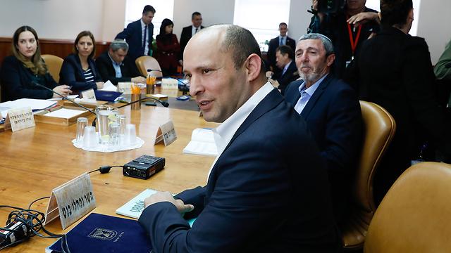 Defense Minister Naftali Bennett (Photo: Ohad Zwigenberg) (Photo: Ohad Zwigenberg)