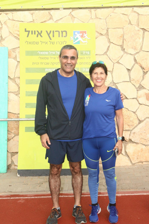 רכילות עסקית זהבה שמואלי ואבישי קרואני (צילום: אילן לוי)