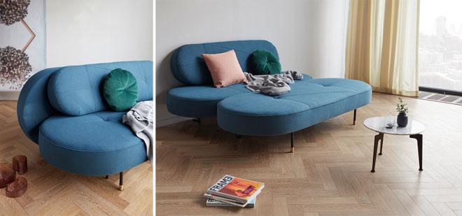 עיצוב מקורי לספה נפתחת. ''אינוביישן''