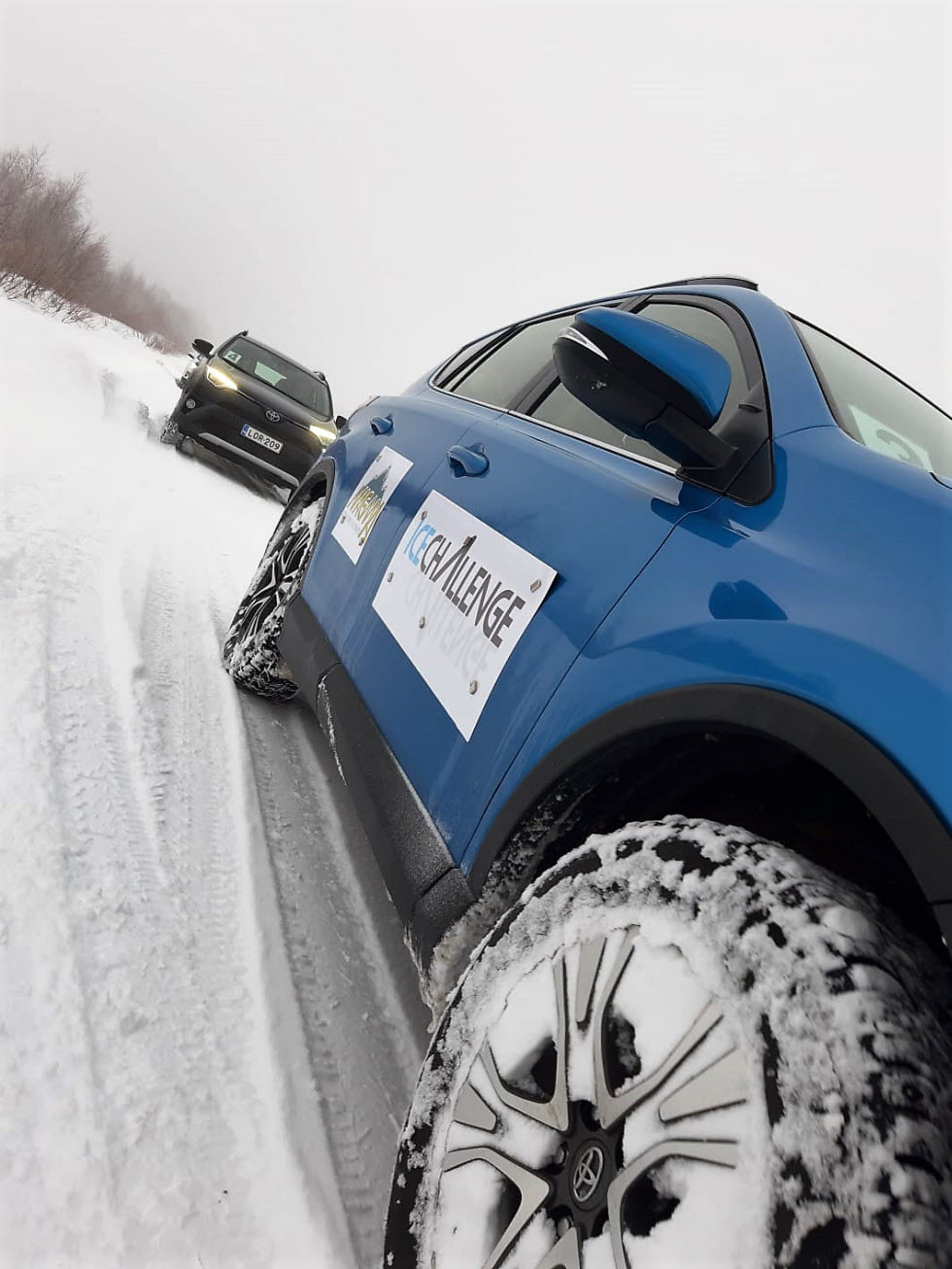נהיגה על שלג לא דומה לשום דבר.  (צילום: מאגמה)