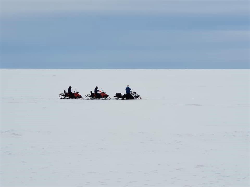 מי אמר אדרנלין. אופנועי שלג במסע חוצה לפלנד.  (צילום: מאגמה)