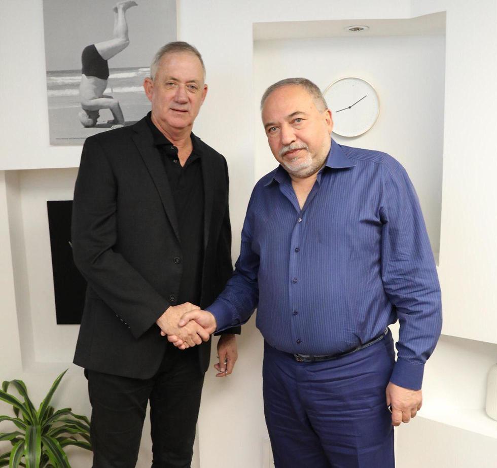Либерман и Ганц. Фоно: Эльад Малка (Photo: Elad Malka)