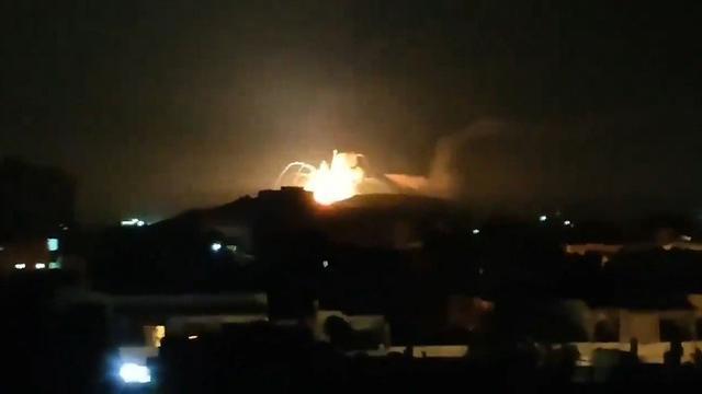 IDF airstrike in Damascus