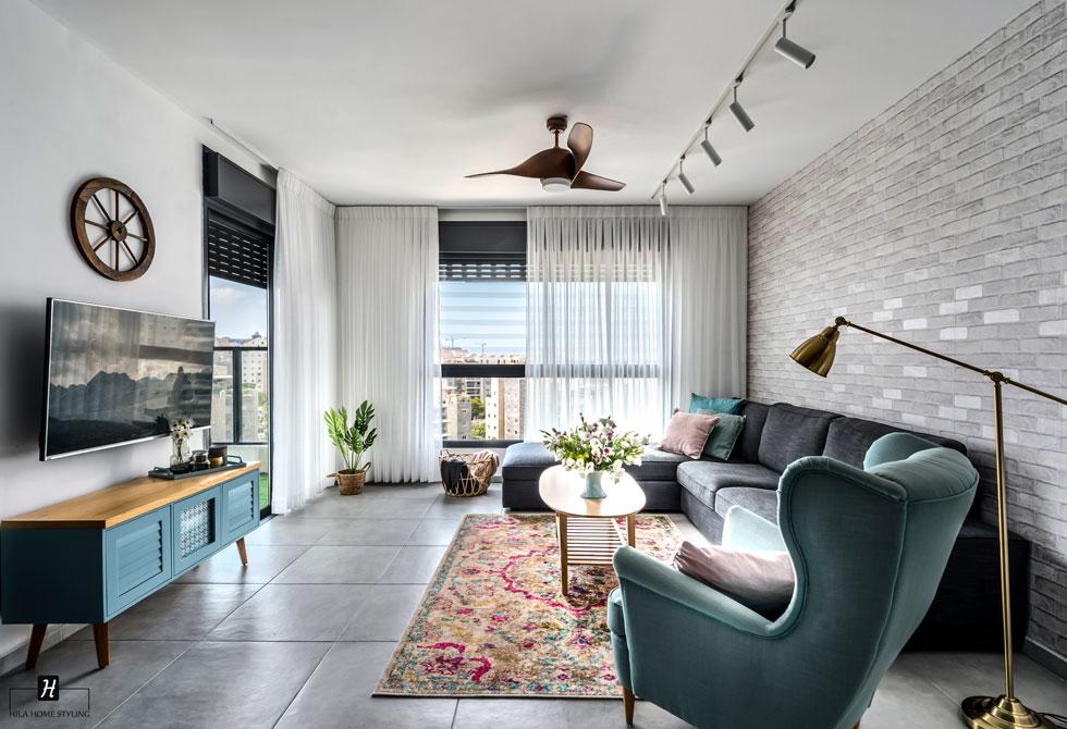 קחו את השטיח לתקופת ניסיון הביתה. עיצוב: הילה אלטר (צילום: מאור מויאל)